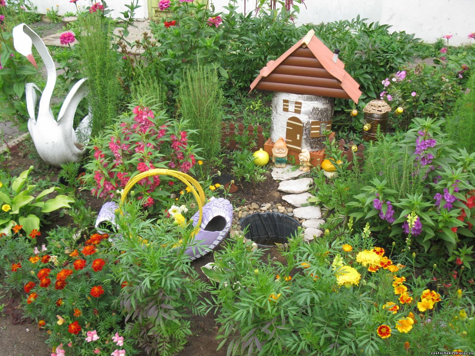 Украшения для сада своими руками: 103 идеи, фото 7